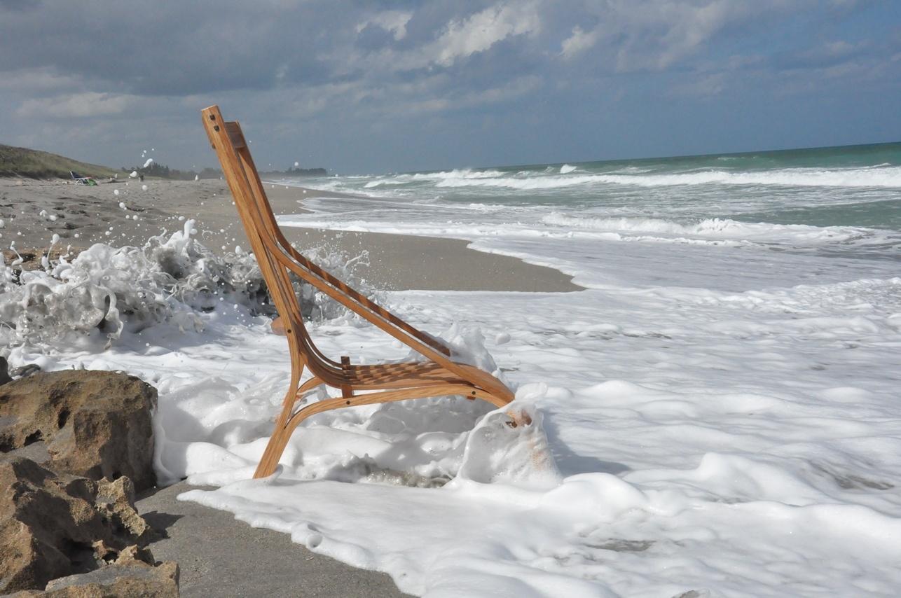 Sagamoe chair at beach