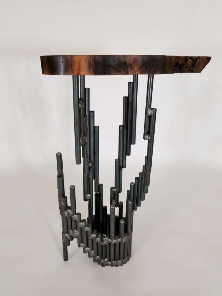 Sculptural Table Support with Root-like base II